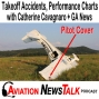Artwork for 193 Two SR20 Takeoff Accidents plus Performance Charts with Catherine Cavagnaro + GA News