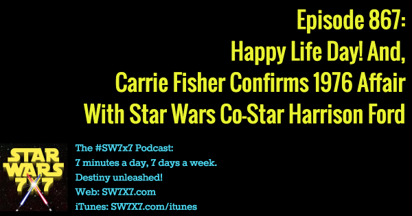 867: The Affair: Carrie Fisher and Harrison Ford