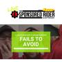 Artwork for #214 - Back to the basics; 6 motorsports sponsorship fails to avoid