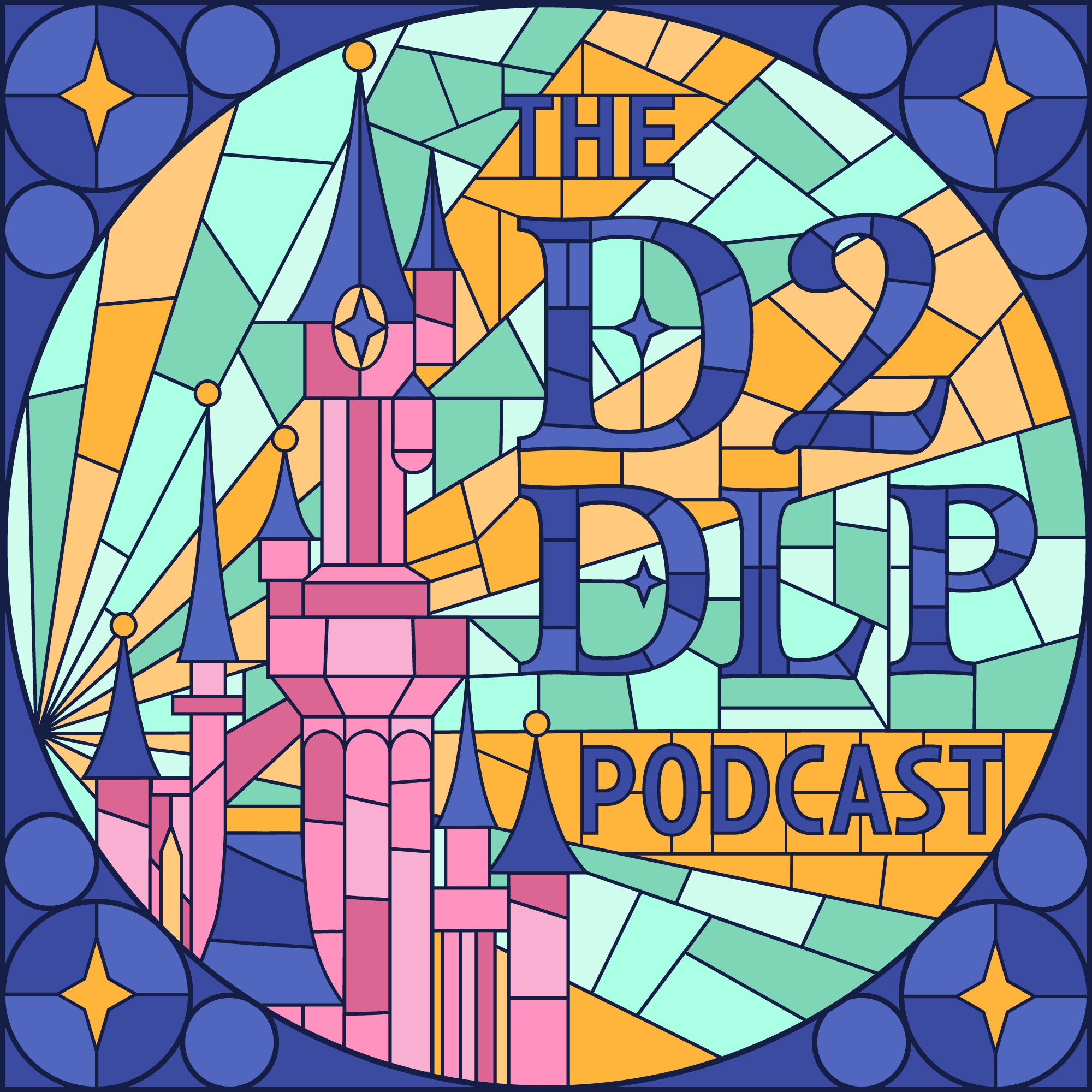 Dedicated to Disneyland Paris Podcast show art