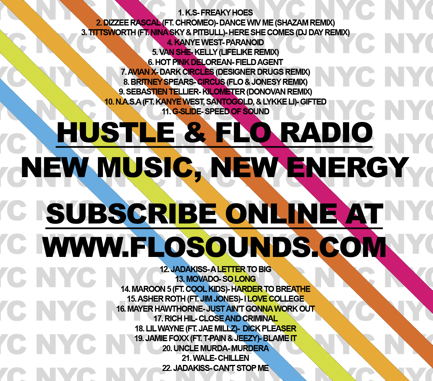 Hustle & FLO Podcast Radio- 2009 Premier (01.13.2009)