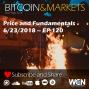 Artwork for Bitcoin Price and Fundamentals - 6/23/2018 - E120