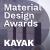 Dark Theme with KAYAK - 2020 Material Design Awards show art