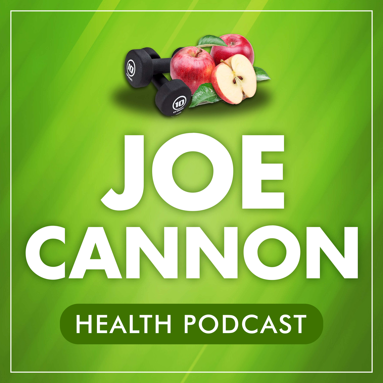 Joe Cannon Health Podcast show art