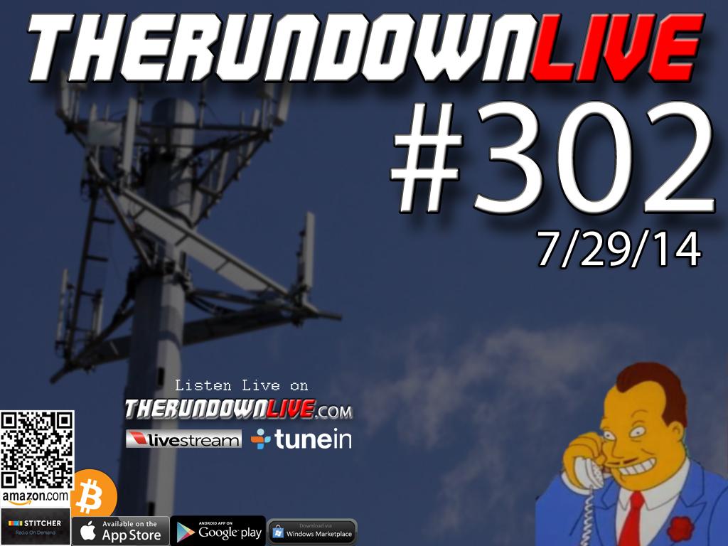 The Rundown Live #302 Open Lines (Government,Tower Dump,Ventura Lawsuit)