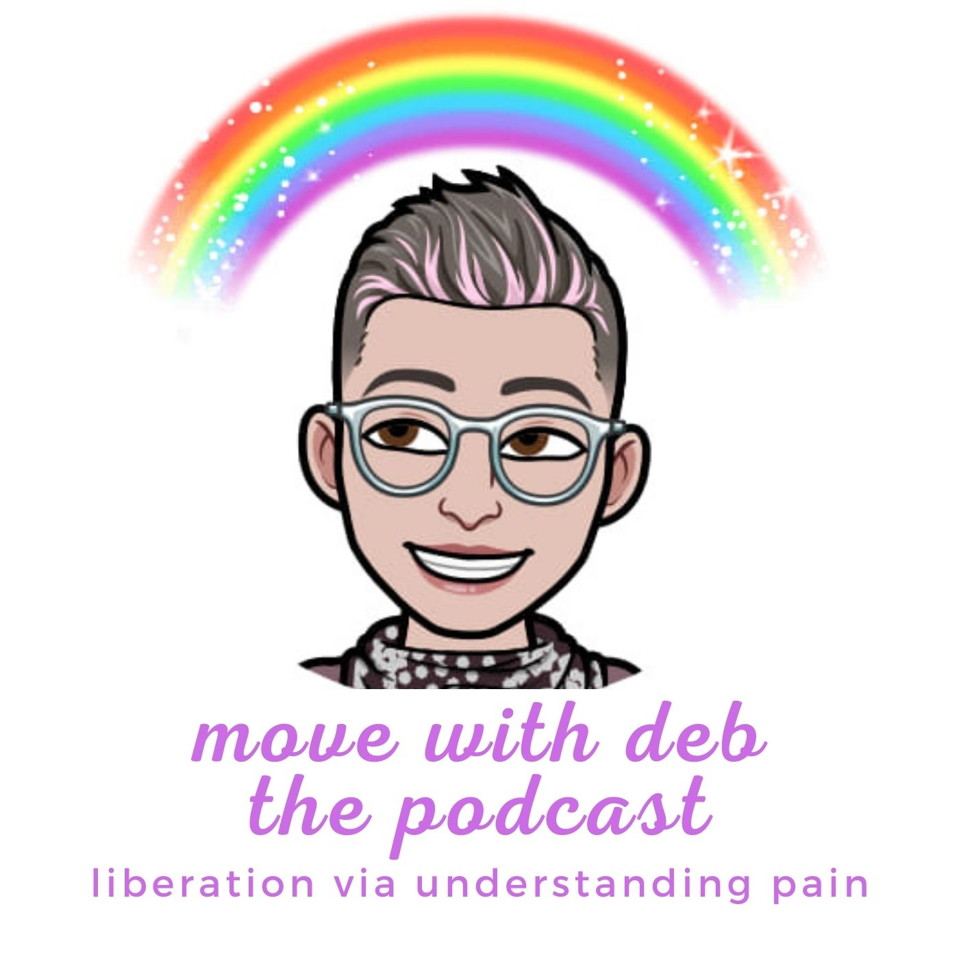 Move With Deb the Podcast show art