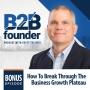 Artwork for Bonus Episode: How To Break Through The Business Growth Plateau