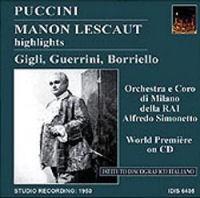 Beniamino Gigli in Manon Lescaut