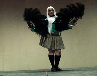"93 - Esmerelda Athena May as Inner Moka from ""Rosario + Vampire"""