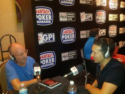 EPISODE 126-- WSOP JULY 2013 --Jared Tendler, M.S., LMHC, was a mental game coach for golfers on the PGA and LPGA tours before he became the leading mental game expert in poker. And a short talk with the Company  rep in the adjoining booth, Eric Ganis