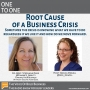 Artwork for Program 58 - Root Cause of a Business Crisis