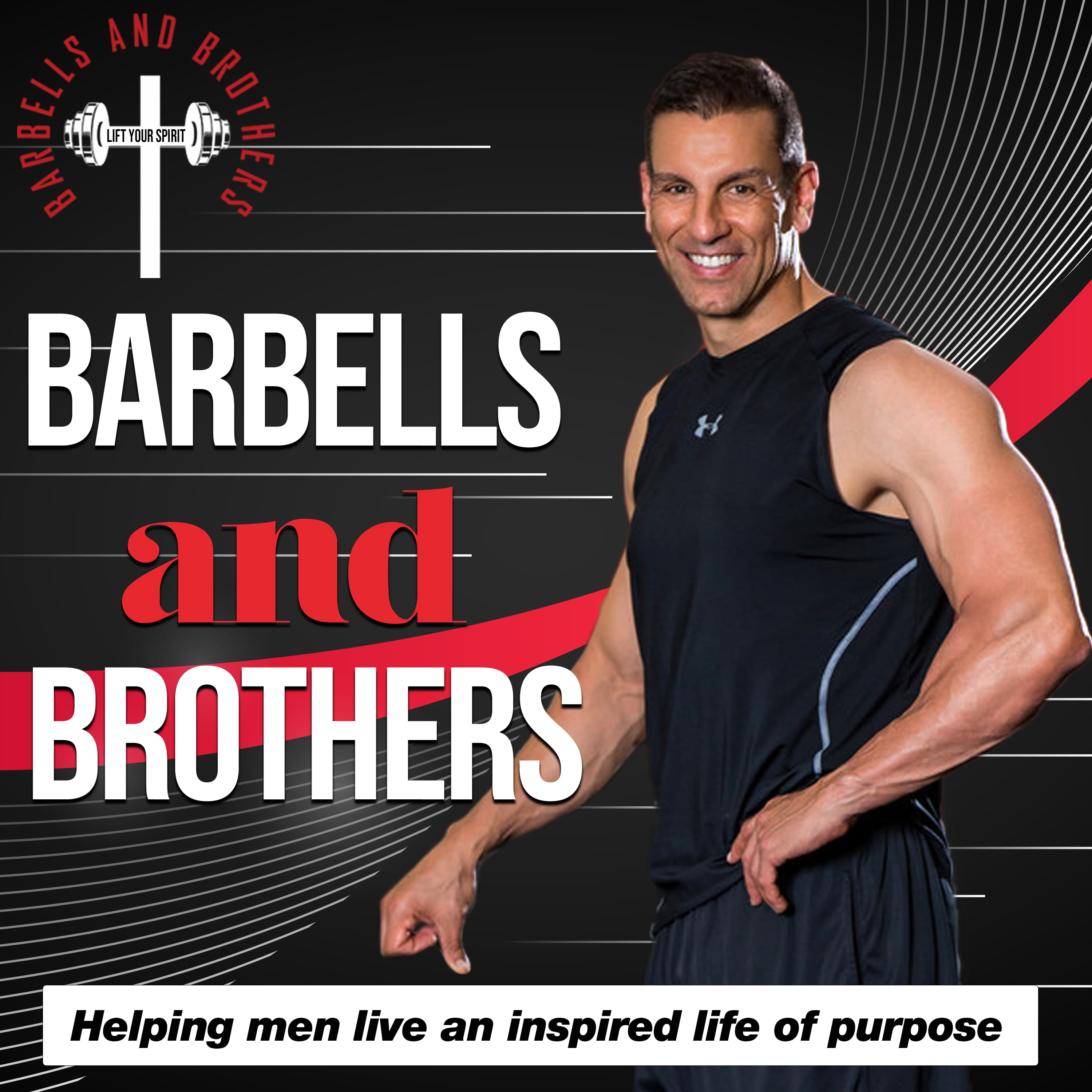 Barbells & Brothers with Troy Ismir show art