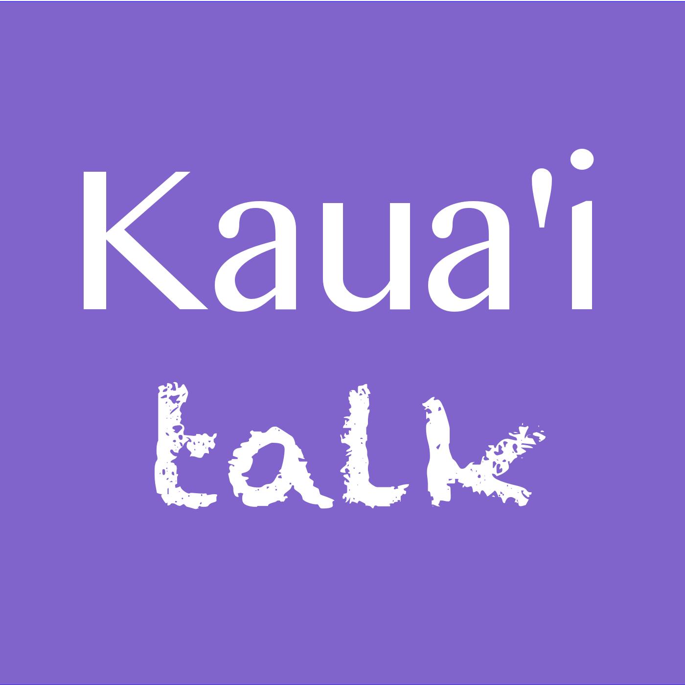 Kauai Talk's Podcast show art