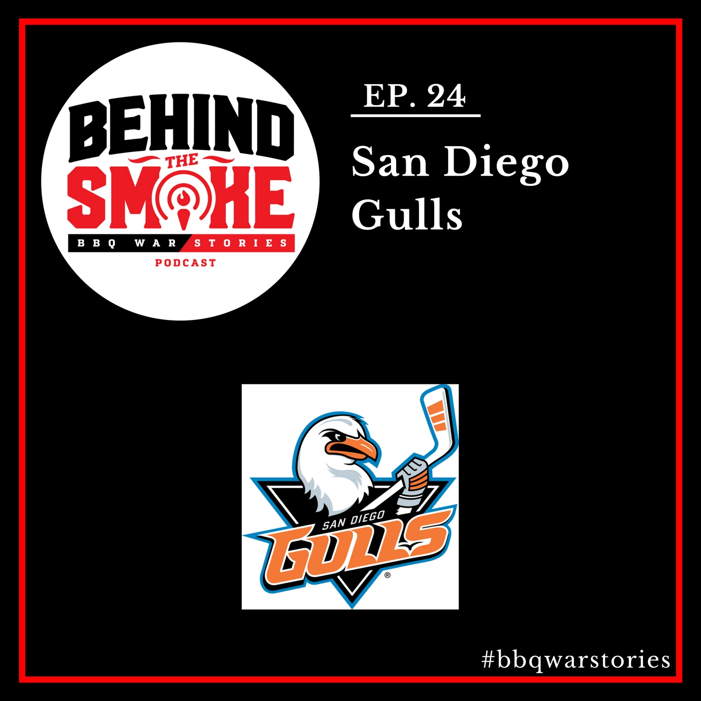 Artwork for #024: Turning a California Hockey Dream into a Sports Business Reality - San Diego Gulls Hockey Club