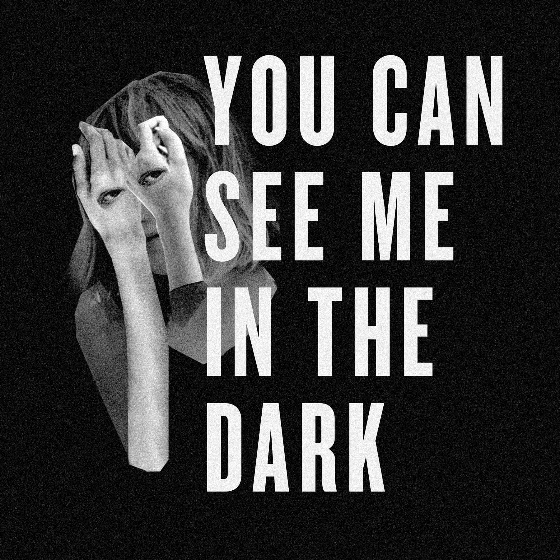 You Can See Me in the Dark show art
