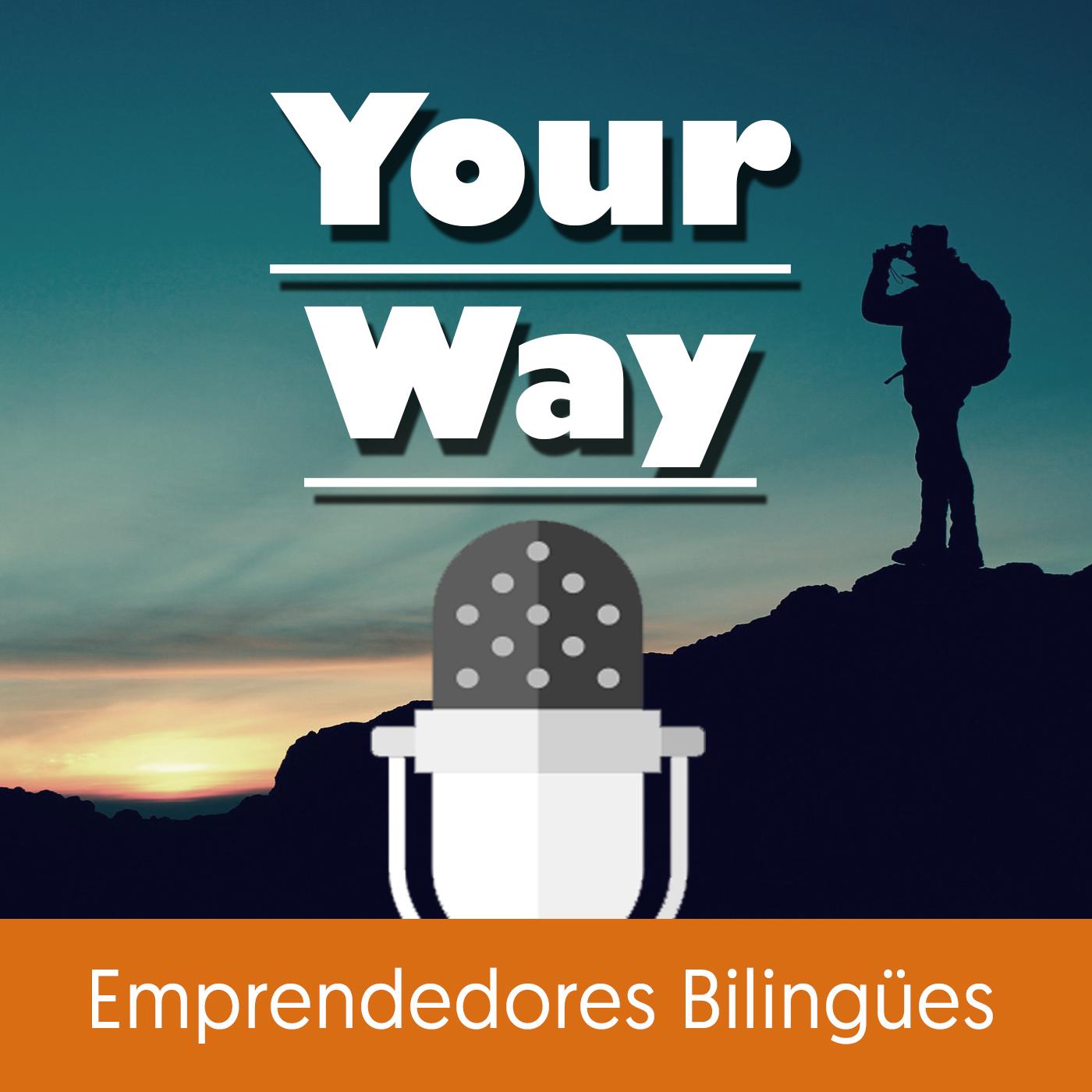 Aprende inglés online - Your Way Podcast show art