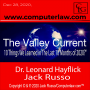 """Artwork for The Valley Current®️: What Are the Top 10 Things We Learned in The Last 10 Months of 2020?"""" with Dr. Leonard Hayflick"""
