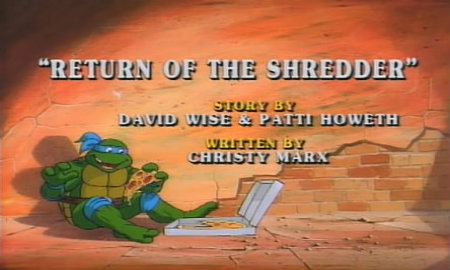 When the Music Stops: Return of the Shredder