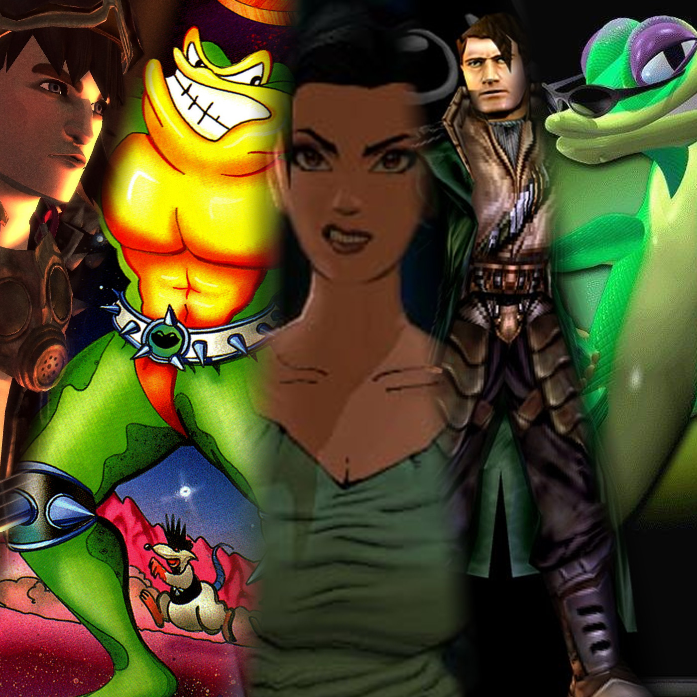 Top 5 - Ways We Would Pitch A New Rock Band/Battletoads/Fear Effect/Anachronox/Gex