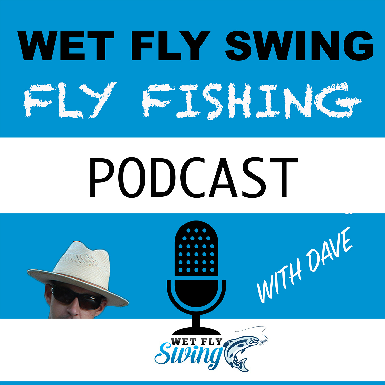 Wet Fly Swing Fly Fishing Podcast show art