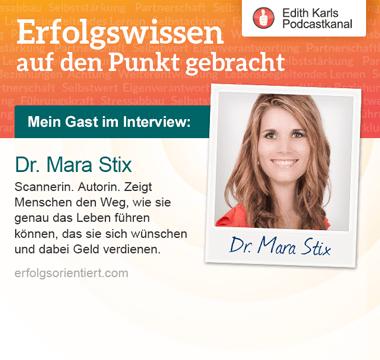 174 – Im Gespräch mit Dr. Mara Stix - Teil 2