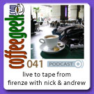 CG Podcast 041 - Live (to tape) from Firenze, a long time ago!