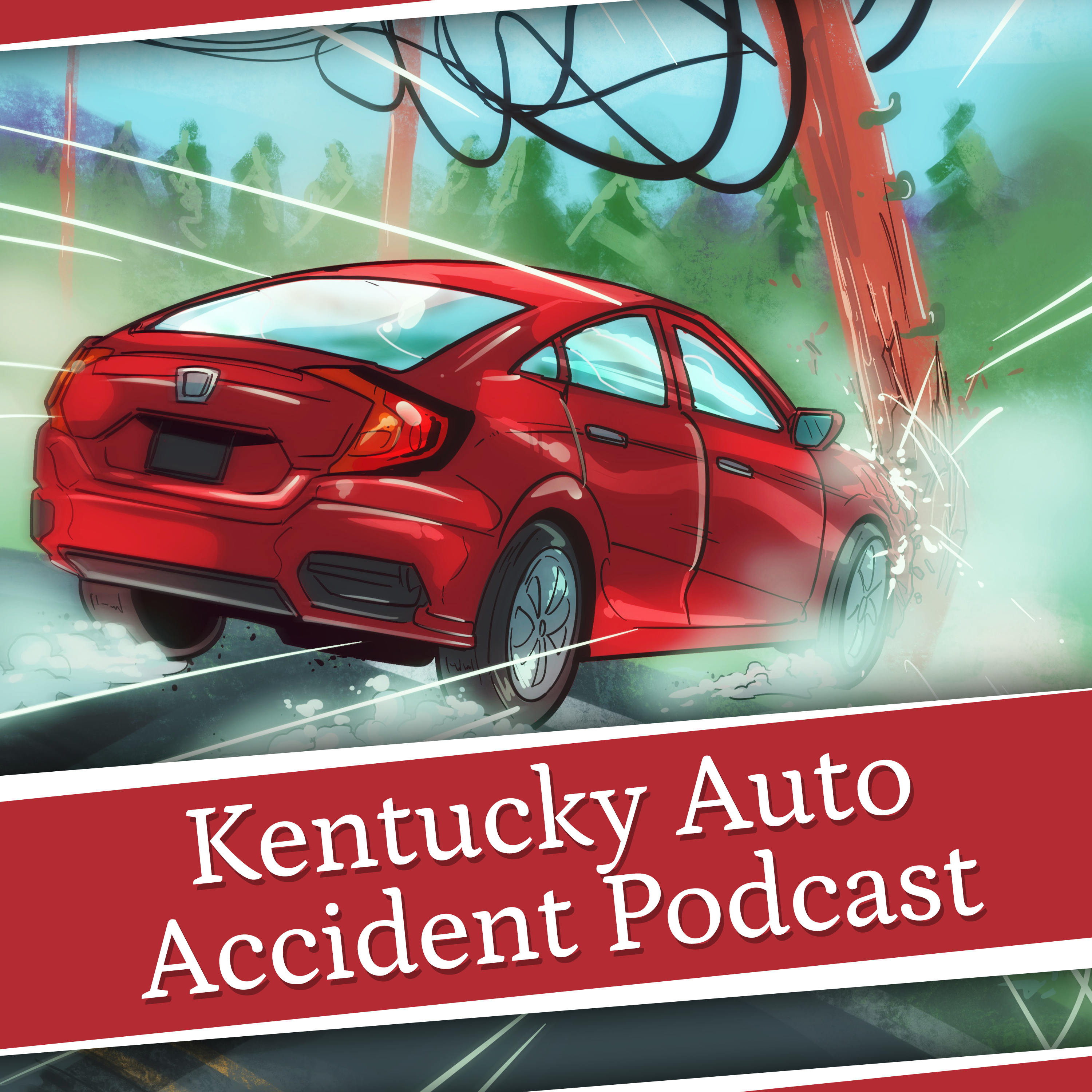 Kentucky Auto Accident podcast show art