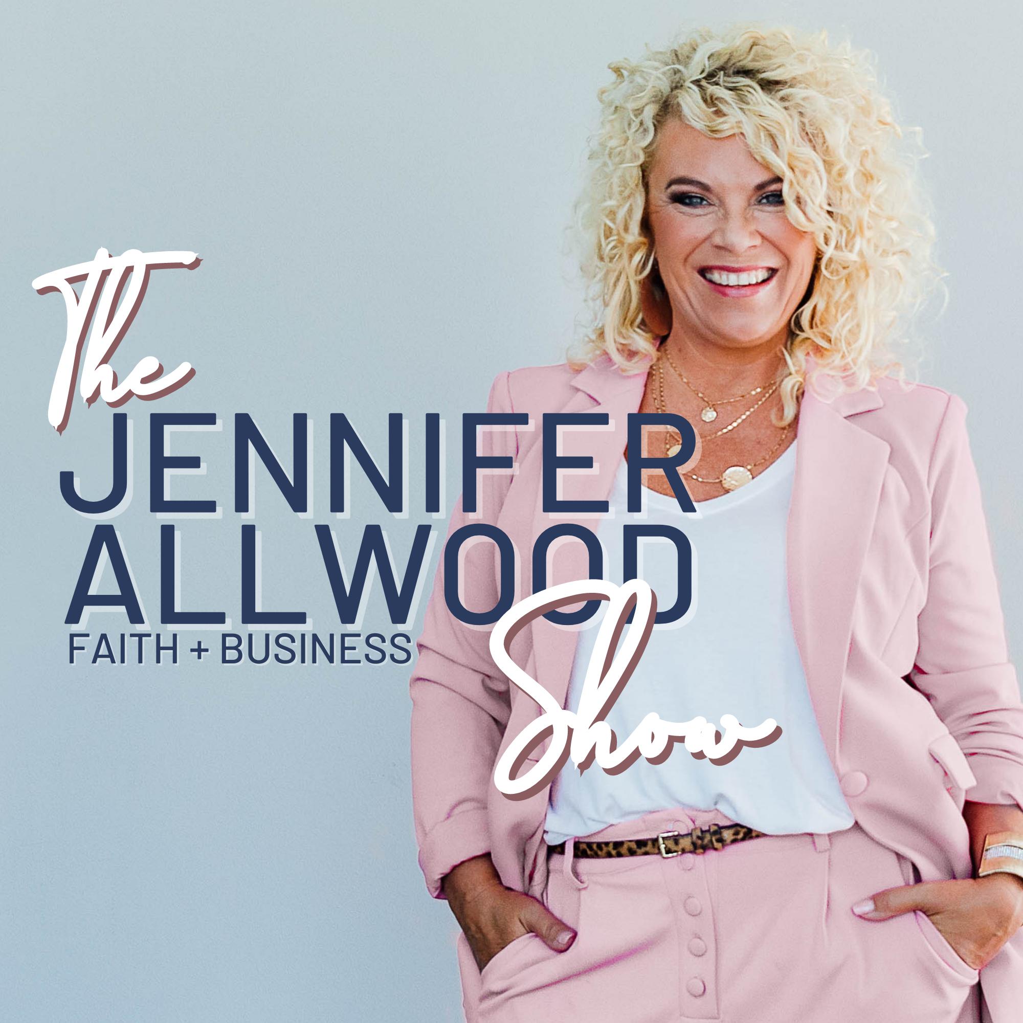 The Jennifer Allwood Show show art