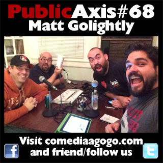 Public Axis #68: Matt Golightly