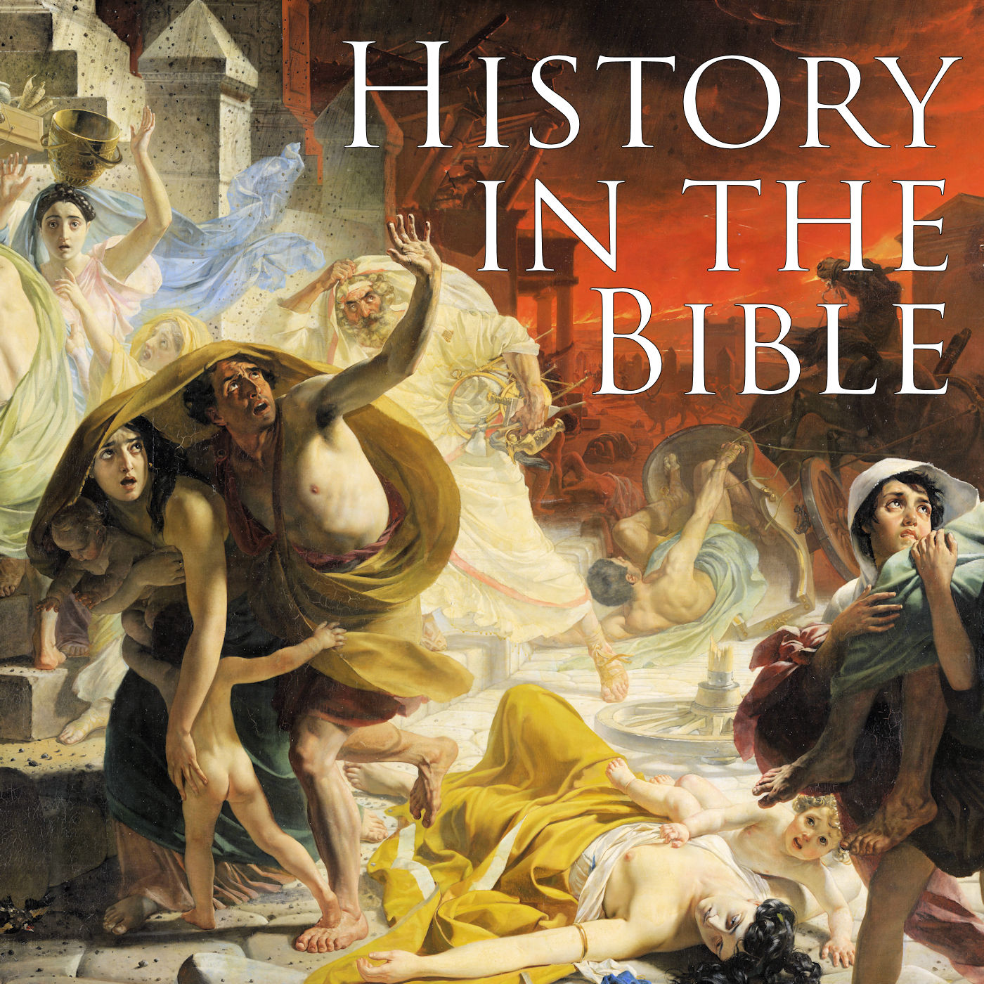 History in the Bible show art