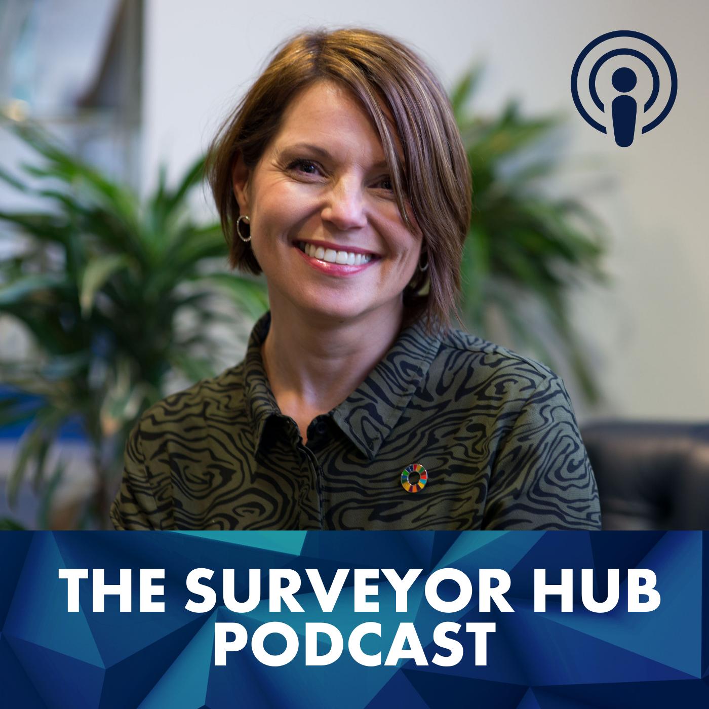The Surveyor Hub Podcast show art