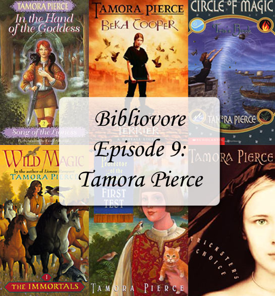 Episode 9 - Tamora Pierce