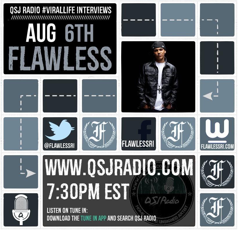 Artwork for 8.6.2015 QSJ Radio #Virallife | Flawless Real Talk Interview @Flawlessri
