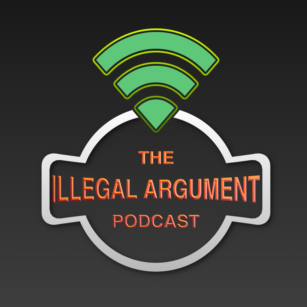 Artwork for Illegal Argument Episode 9 - Hooray, the glockenspiel is dead.