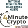 Artwork for Twitter Has Activated A New Bitcoin Hashtag