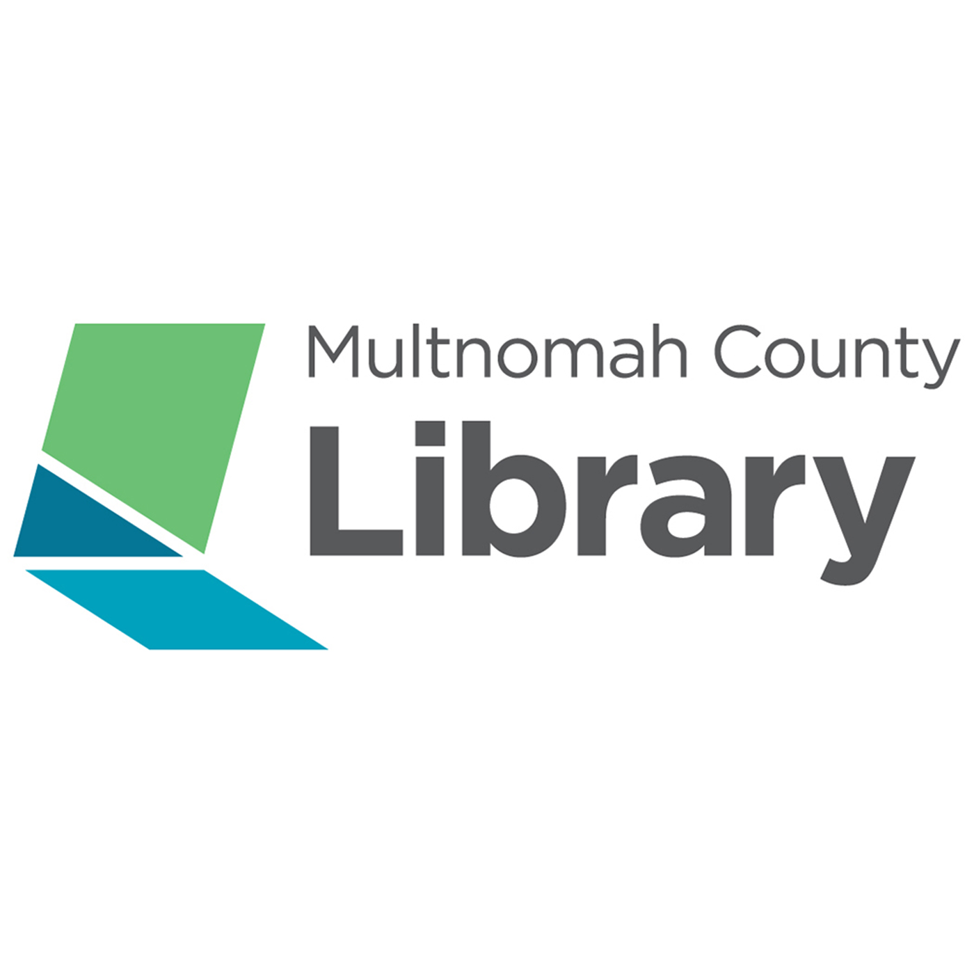 Multnomah County Library Podcasts show art