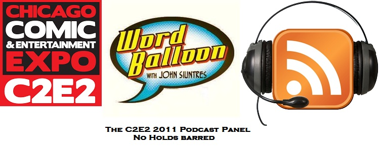 C2E2 2011 Podcast Panel