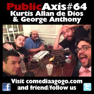 Public Axis #64: Kurtis Allan de Dios & George Anthony