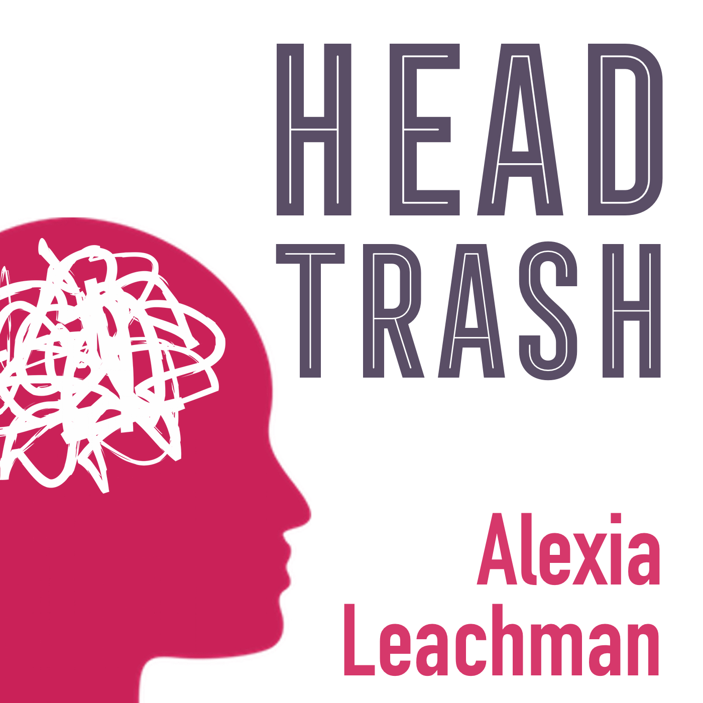 The Head Trash Show with Alexia Leachman show art