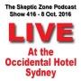 Artwork for The Skeptic Zone #416 - 9.October.2016