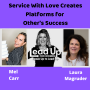 Artwork for Service with love creates platforms for other's success