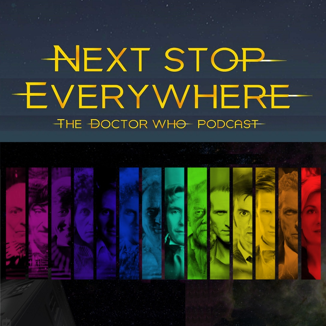 Next Stop Everywhere: The Doctor Who Podcast show art