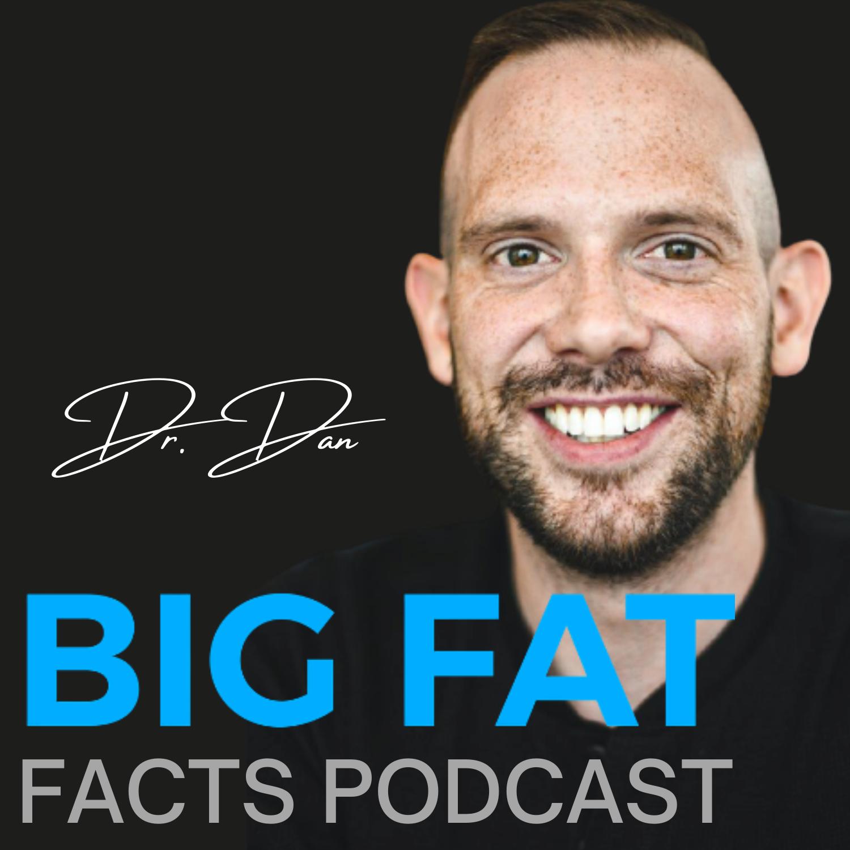 Big Fat Facts Podcast show art