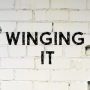 Artwork for Winging It: Episode 20: Learning to Lean Into the Universe