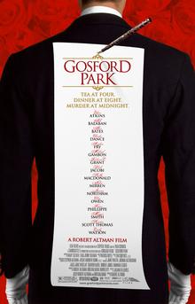 35: Gosford Park (2001) show art