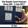 Artwork for The Skeptic Zone #454 -2.July.2017