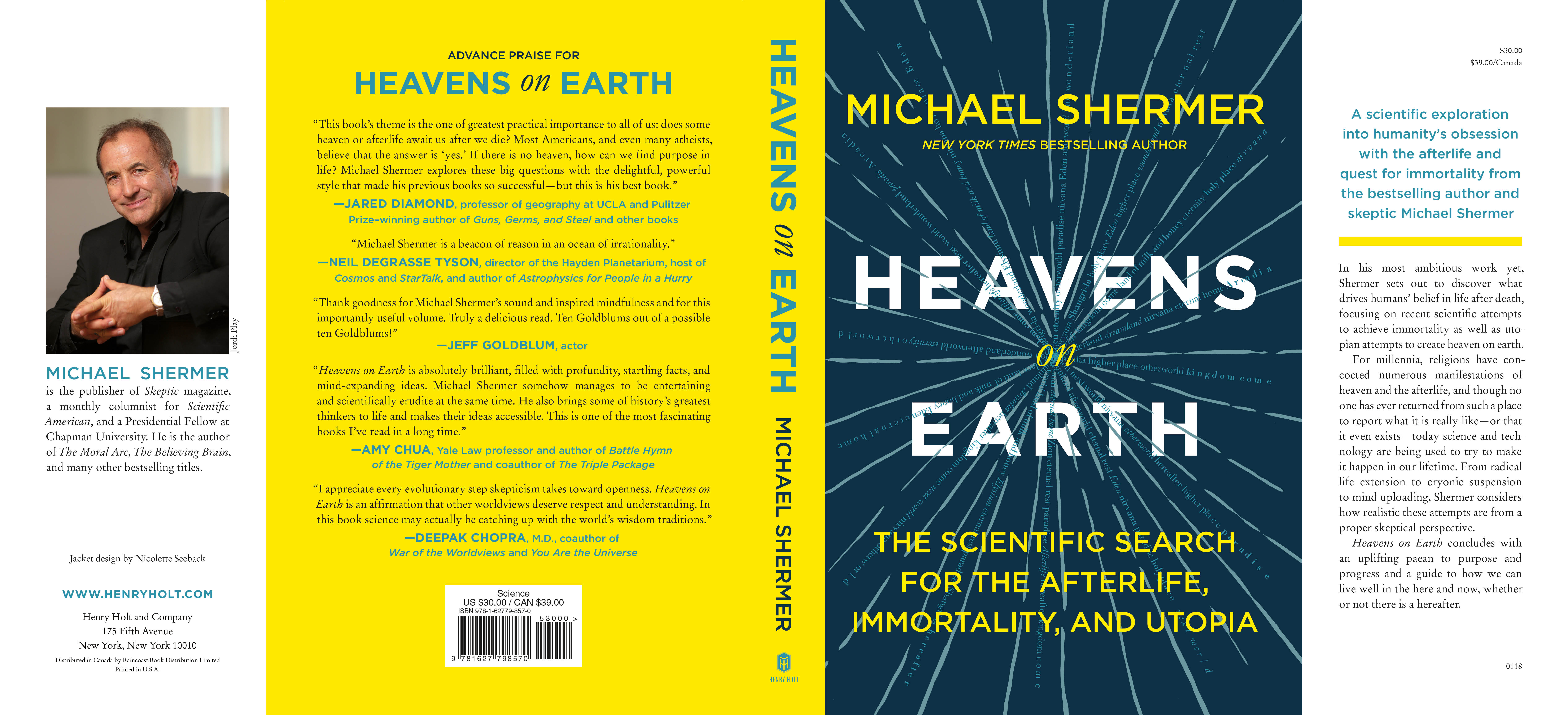 Artwork for Michael Shermer-- Heavens On Earth: The Scientific Search for the Afterlife, Immortality, and Utopia