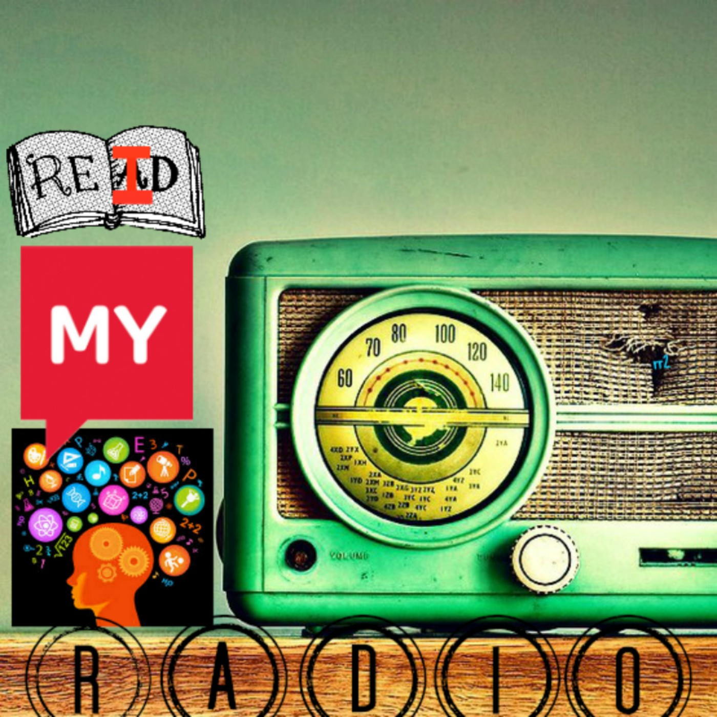 ReidMyMindRadio show art