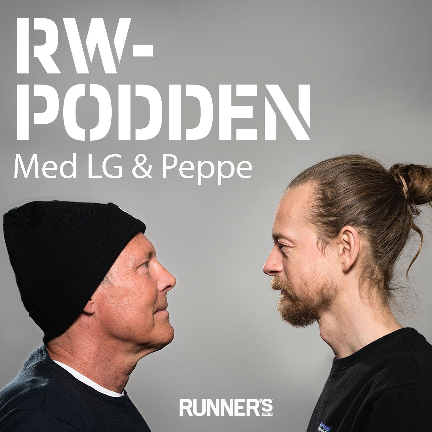 RW-podden med LG & Peppe show art