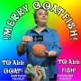 Artwork for VS 009 MERRY GOATFISH! - Amanda Cohen